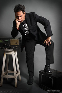 Horacio Blanco.  Sesión Músicos en la Radio para Todo en Domingo.