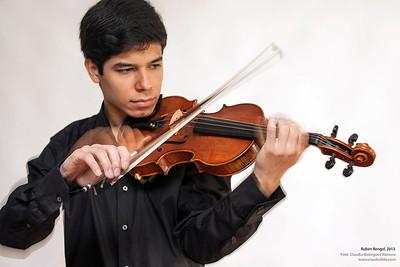 Jesús Rengel, violinista venezolano, Caracas, 2013