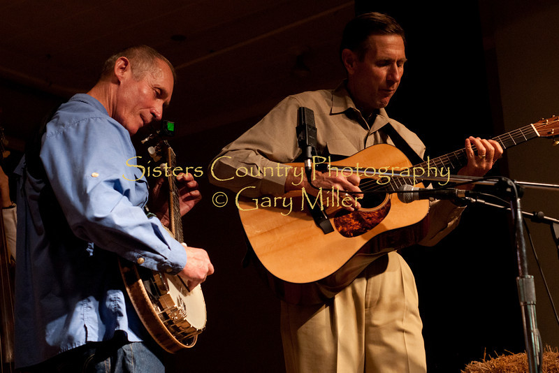 The band Quincy Street performs at the Hoedown for Hunger Benefit concert for the homeless in Bend, OR. November 2009. Gary Miller - Sisters Country Photography