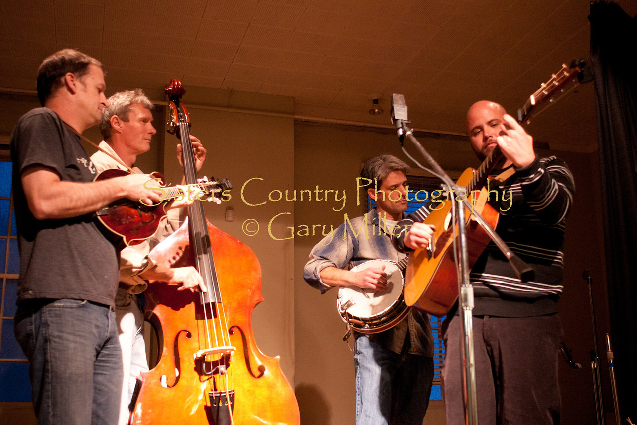 A new reincarnation of the longtime Central Oregon band  Blackstrap performs at the Hoedown for Hunger Benefit concert for the homeless in Bend, OR. November 2009. Gary Miller - Sisters Country Photography