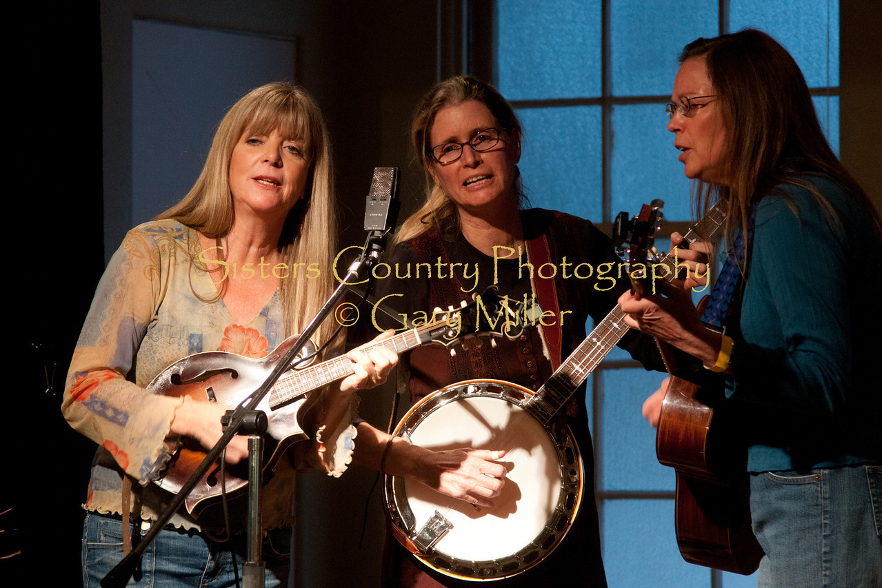 The Prairie Rockets performing at the Hoedown for Hunger Benefit concert for the homeless in Bend, OR. November 2009. Gary Miller - Sisters Country Photography