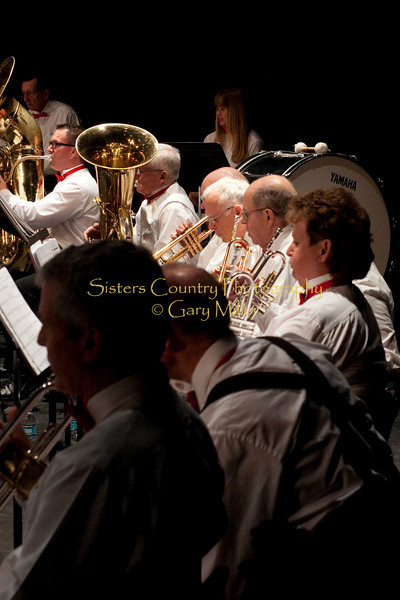 Cascade Horizon Band in Concert . Photo by Gary Miller