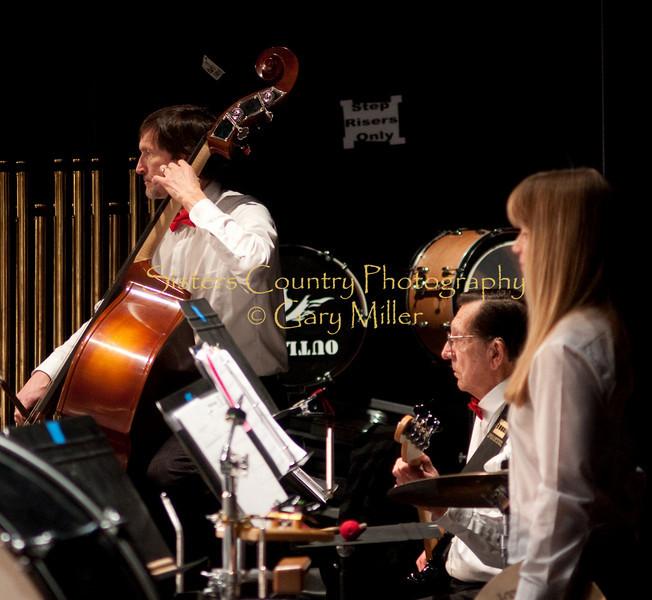Cascade Horizon Band in Concert . Photo by Gary Miller