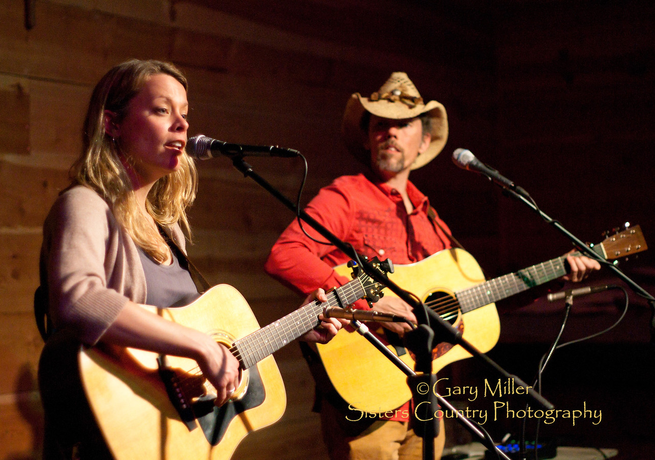 Chris Kokesh & Jonathan Byrd in concert at the Harmony House - Sisters, OR 2011 - Gary Miller - Sisters Country Photography