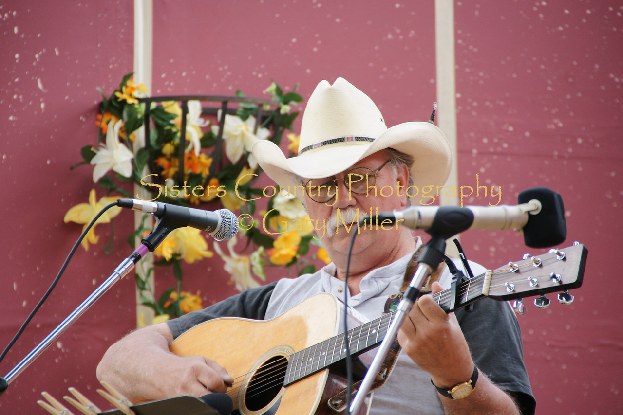 The Wheeler County Bluegrass Festival in Fossil Oregon - Gary Miller - Sisters Country Photography