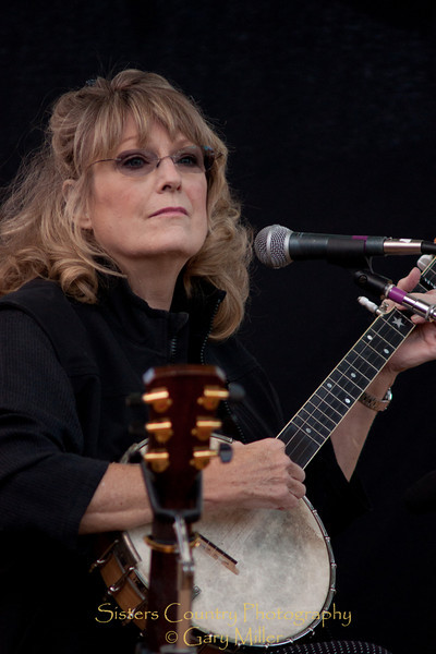 Carol Harley - 2010 Wheeler Country Bluegrass Festival, Fossil, OR - Gary Miller - Sisters Country Photography