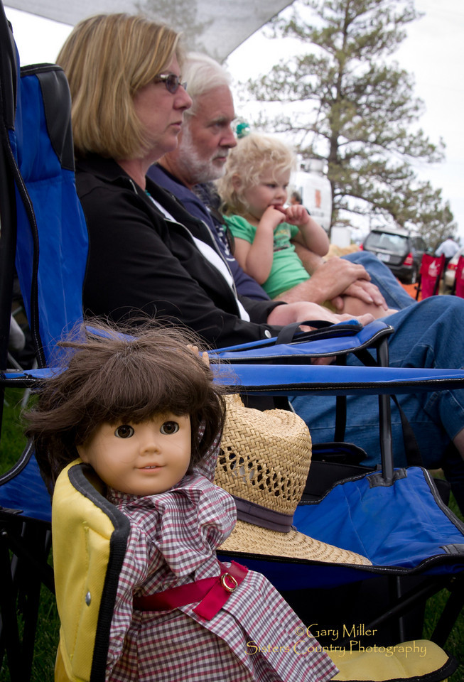 The dolls all came out for the music - Runway Ranch - High & Dry Bluegrass Festival 2010