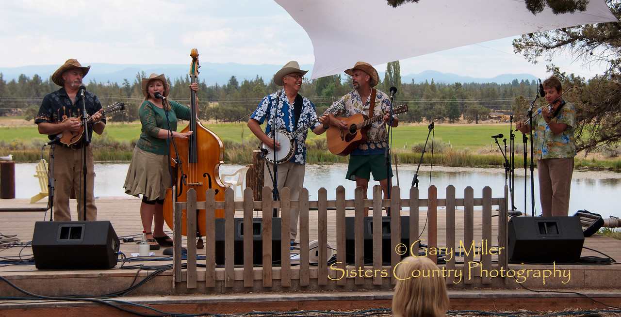Leroy and the Sidekicks - High & Dry Bluegrass Festival 2010 - Gary Miller - Sisters Country Photography