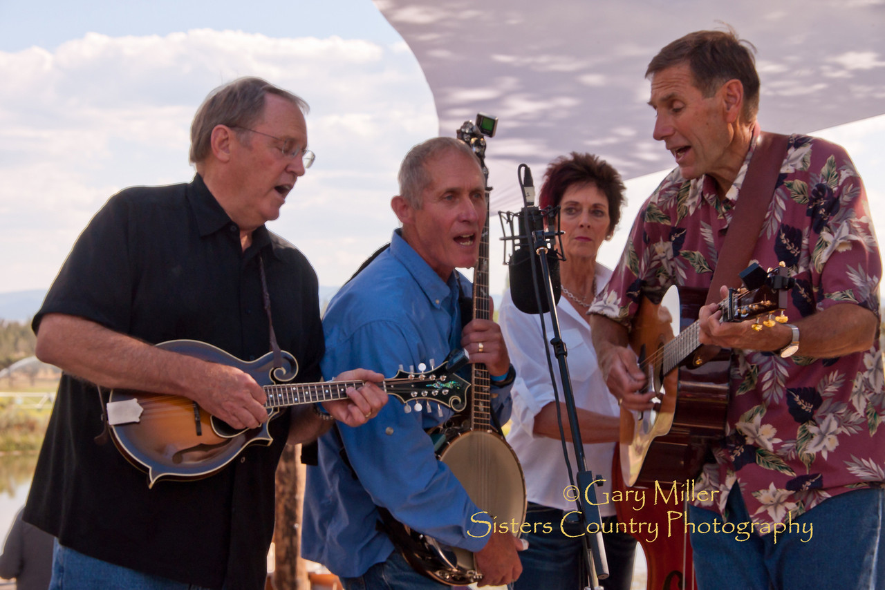 Quincy Street - High & Dry Bluegrass Festival 2010 - Gary Miller - Sisters Country Photography