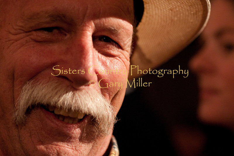 Photographer Gary Miller is turned on and captured by his own camera. Photographed at Bronco Billy's by Angeline Rhett
