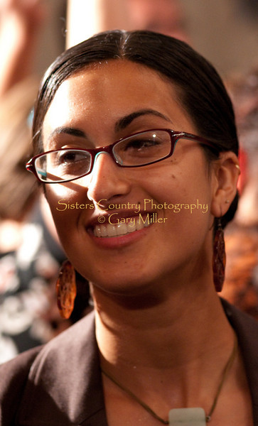 Shireen Amini at the 2009 Sisters Folk Festival. Photo By Gary Miller