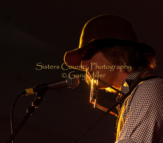 Todd Snider was a captivating presence with thought provoking songs that ran deep. Main Stage - 2009 Sisters Folk Festival. Photo by Gary Miller