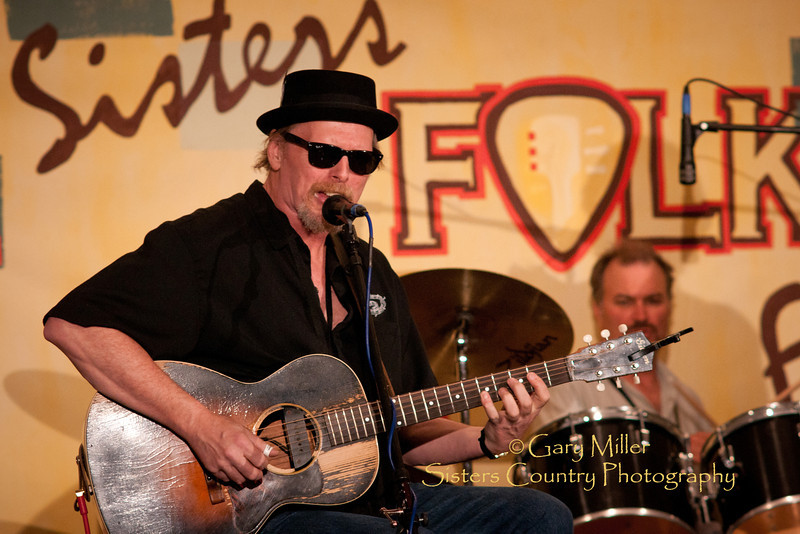 Thad Beckman Band performs at Bronco BIlly's during the 2011 Sisters Folk Festival - Photo by Gary N. Miller - Sisters Country Photography