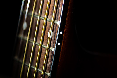 The Ibanez PF5L-NT-14-05 left handed acoustic guitar. (Joseph Forzano / The Palm Beach Post)