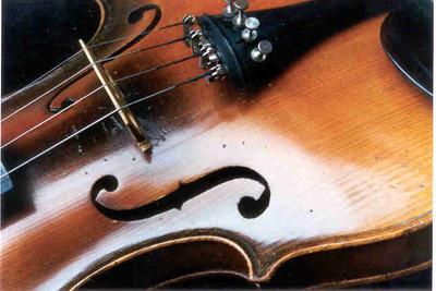 Violin F Holes