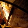 MBP-090 | Reflection 2 | You are looking at the violin reflected in the wing of the piano.