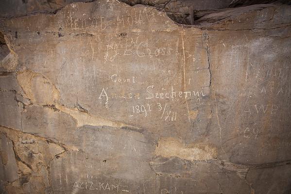 A legendás Perszepolisz egyik fala