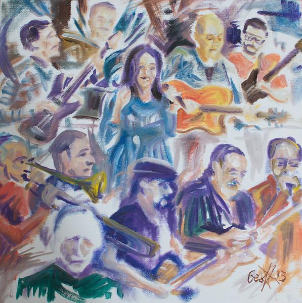 Kerry Kearney Band & The Toby Tobias Ensemble By Geoff Rawling<br /> <br /> Current bid: $120