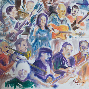 Kerry Kearney Band & The Toby Tobias Ensemble By Geoff Rawling  Current bid: $120