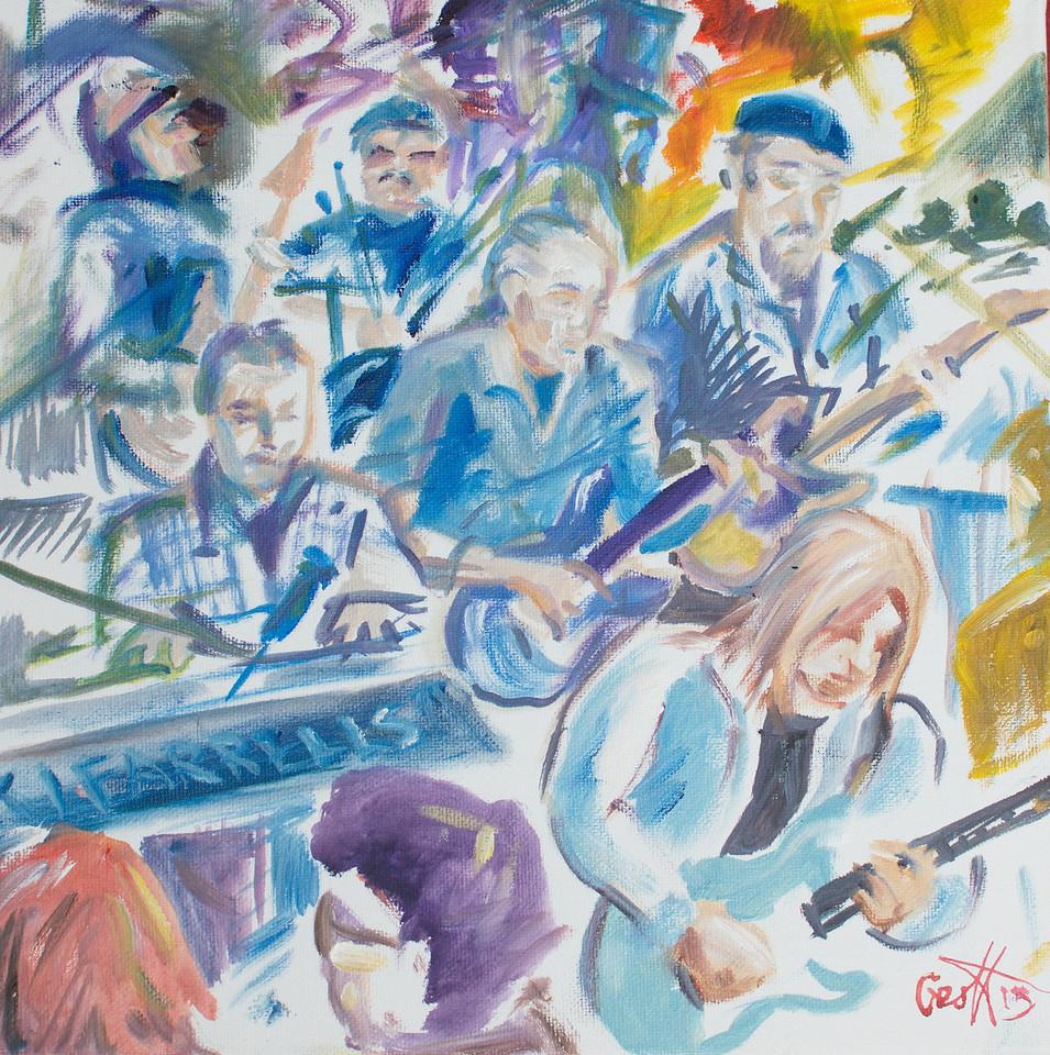 Breakaway & Bert Elliott By Geoff Rawling<br /> <br /> Current bid: $120, high bidder Bill