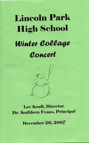 Lincoln Park Program Cover