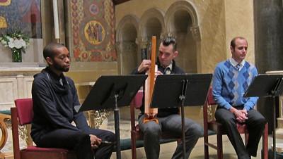 xConcordian Dawn_2013-11-07_A Medieval Melange_4608_3 singers, plus harp