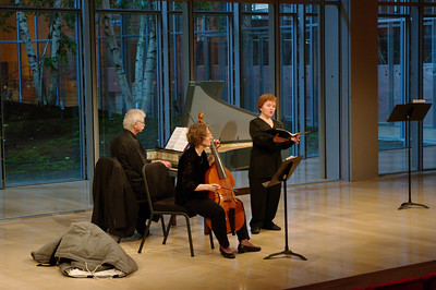 BaroQue Across the River's Arthur Haas, Martha McGaughey, Michèle Eaton