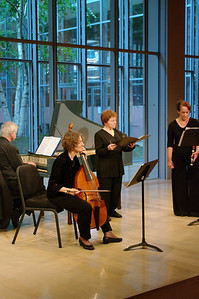 BaroQue Across the River's Arthur Haas, Martha McGaughey, Michèle Eaton, Kathy McDonald