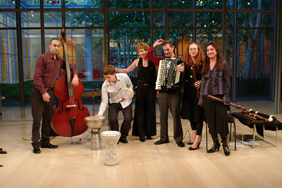 East of the River: Avri Borochov, Shane Shanahan, Suzanne Bona of Sunday Baroque, Uri Sharlin, Daphna Mor, Nina Stern