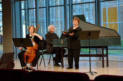 BaroQue Across the River's Martha McGaughey, Arthur Haas, Michèle Eaton