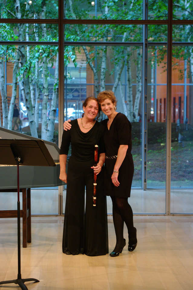 BaroQue Across the River: Suzanne Bona of Sunday Baroque with Kathy McDonald