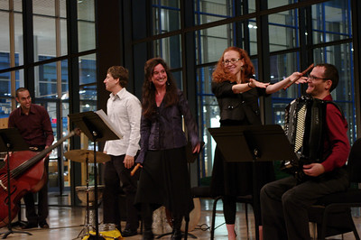 East of the River's Avri Borochov, Shane Shanahan, Nina Stern, Daphna Mor, Uri Sharlin