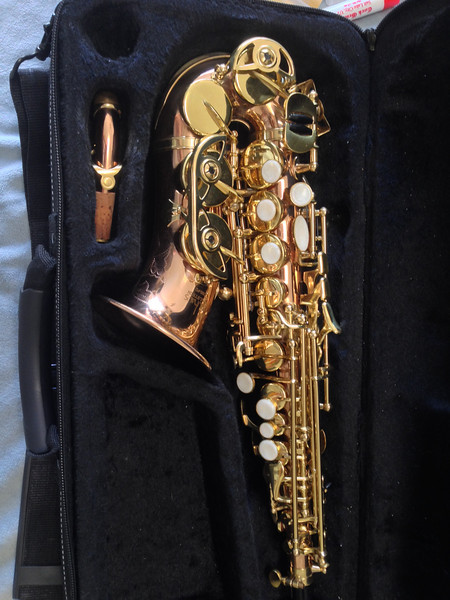 Bauhaus CSS-YD Deluxe Curved Soprano Saxophone, Improved Action