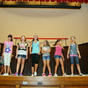 """The Crescendo Theater Company in Leominster MA has a summer program for kids which is in its second year. On Wednesday they were practicing for their show """"School House Rock"""" in the auditorium at City Hall. The kids will perform the show on Aug. 1 & 2, 2014 at City Hall and the show will be free to all. SENTINEL & ENTERPRISE/JOHN LOVE"""