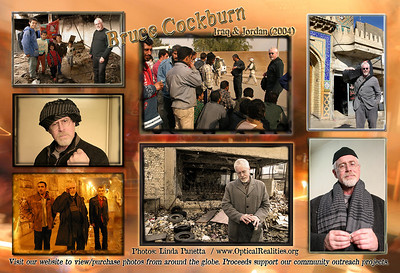 Bruce Cockburn, Iraq (2004) Postcard (back)