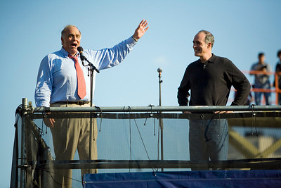PA Gov. Rendell and Sen. Casey  Bruce Springsteen, Philly - Rock the Vote, 2008 (Panetta)