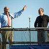 PA Gov. Rendell and Sen. Casey<br /> <br /> Bruce Springsteen, Philly - Rock the Vote, 2008 (Panetta)