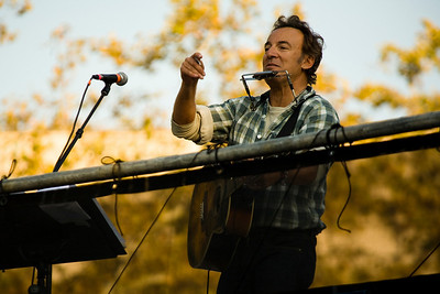 Bruce Springsteen, Philly - Rock the Vote, 2008 (Panetta)