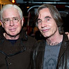 Bruce Cockburn and Jackson Brown at the Leonard Peltier benefit concert. Beacon Theatre, Manhattan NY. Dec. 14 2012.