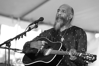 Richie Havens performing at the Bridgeton Folk Festival June 21, 2003