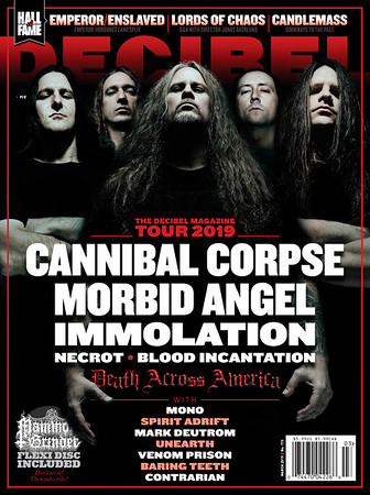 Decibel Magazine Cover, March 2019