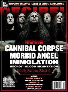 Decibel Magazine Cover, March 2019