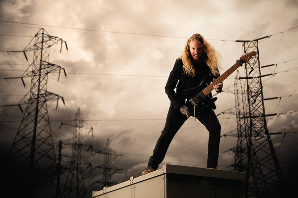 Red Martin, Guitarist from Kingdom of Giants