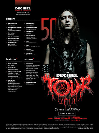Decibel Magazine, March 2019