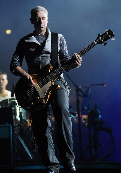 The Irish rock band U2 performs during their 360 Degree Tour at the Georgia Dome in Atlanta, Ga., Tuesday, Oct. 6, 2009. (David Bundy)