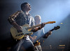 The Irish rock band U2 performs during their 360 Degree Tour at the Georgia Dome in Atlanta, Ga., Tuesday, Oct. 6, 2009. (David Bundy)