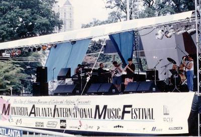 Atlanta based jazz fusion band, Meantime