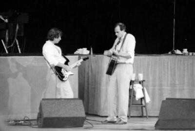 Dan Dugmore and JT BW 1983