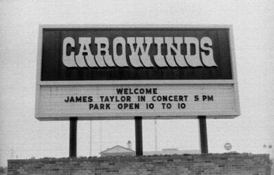 Carowinds sign 1983