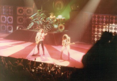 "Mark Anthony, Eddie Van Halen, Asheville, NC 1983 (the ""Little Guitar"" solo)"